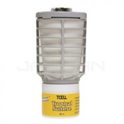Rubbermaid Technical Concepts TCell Continuous Odor Control Air Freshener Refills - 1 case of 6 refills - Tropical Sunrise