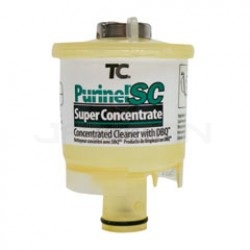 Technical Concepts TC Purinel SC Concentrated Cleaner with DBQ Refills for SaniCell Wall and Pipe - Clear in Color - 1 case of 6 refills