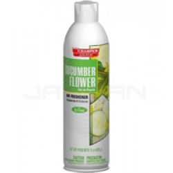 Champion Sprayon Water-Based Air Freshener - 1 case of 12 cans - 15 oz. per can - Cucumber Flower