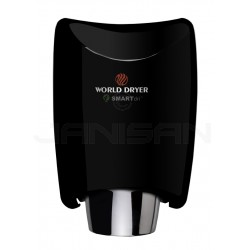 World Dryer Smartdri Automatic Surface Mounted Hand Dryer - Black