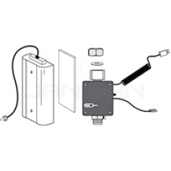 Rubbermaid / Technical Concepts TC490144 Replacement Valve Control Module and Battery Compartment