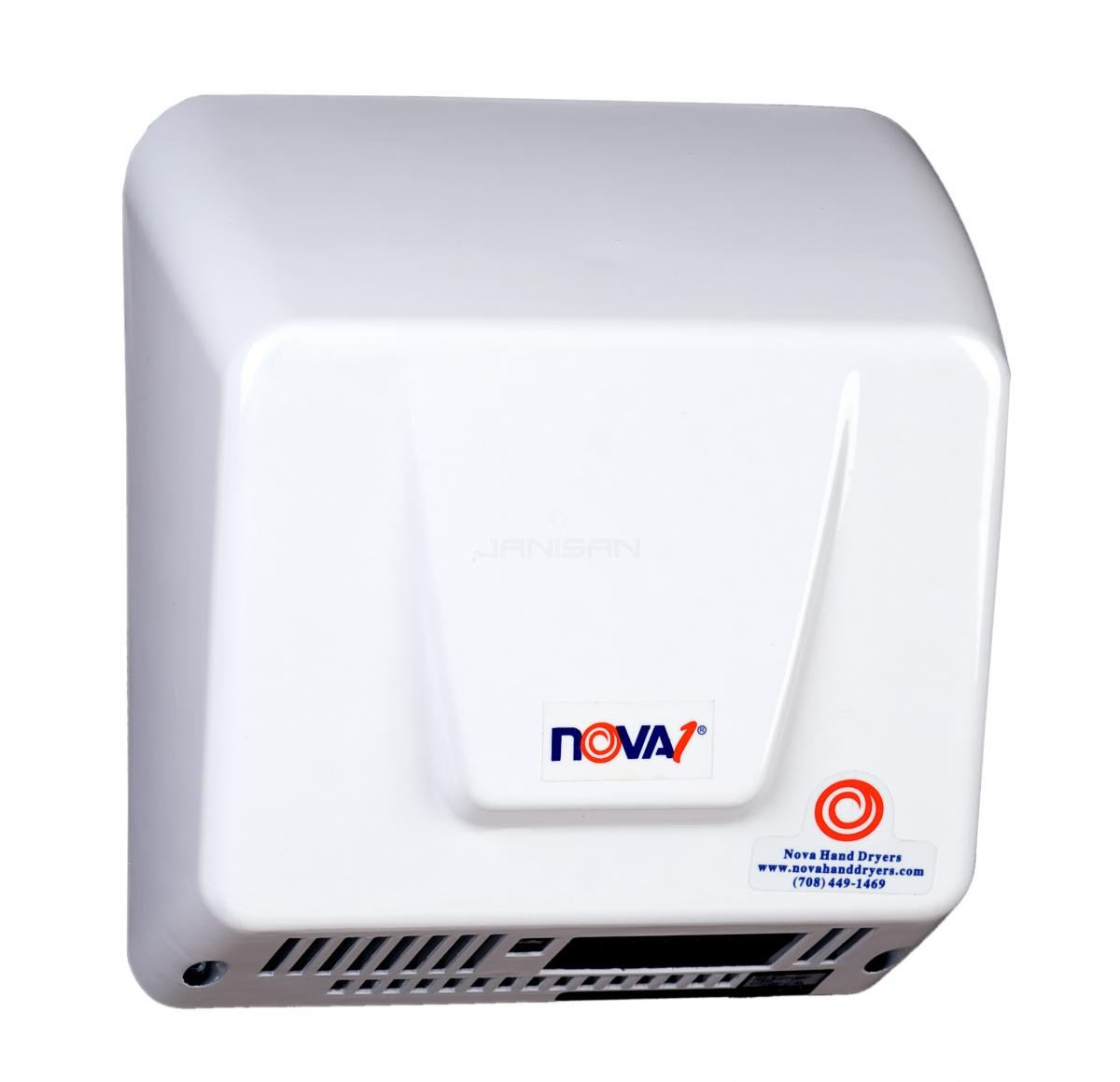 World Dryer Nova 1 Surface Mounted Hand Dryer White