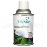 TimeMist 30-Day Premium Air Freshener Refill - 1 case of 12 cans - 5.3 oz. can - Bamboo and Green Tea