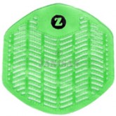 Impact Products Z-Series Deodorizing Urinal Screens - Orchard Zing - Green in Color - 1 box of 12 urinal screens