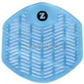 Impact Products Z-Series Deodorizing Urinal Screens - Winter Frost - Blue in Color - 1 box of 12 urinal screens