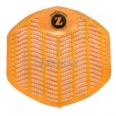 Impact Products Z-Series Deodorizing Urinal Screens - Citrus Zest - Orange in Color - 1 box of 12 urinal screens