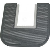 Impact Products 1550 Disposable Toilet Floor Mat - Gray in Color - Orchard Zing Fragrance - Sold Individually