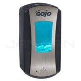 GOJO 1919-04 GOJO LTX-12 1200 ml Touch-Free Foam Soap Dispenser - Black with Chrome Insert
