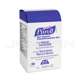 PURELL 2163-08 E3 Rated Instant Hand Sanitizer for use with PURELL 2120-06 NXT Space Saver Dispensing System - 1000 ml refill - 1 case of 8 refills