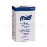 PURELL 2256-04 Instant Hand Sanitizer for use with PURELL 2220-08 NXT Maximum Capacity Dispensing System - 2000 ml refill - 1 case of 4 refills