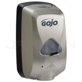 GOJO 2799-12-EEU00 TFX Touch-Free Foam Soap Dispenser - Brushed Metallic Finish