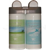 Technical Concepts TC Microburst Duet Dual Fragrance Air Freshener Refills -  Gentle Breeze and Linen Fresh Fragrances - 1 case of 4 refills