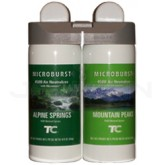 Technical Concepts TC Microburst Duet Dual Fragrance Air Freshener Refills - Alpine Springs and Mountain Peaks Fragrances - 1 case of 4 refills