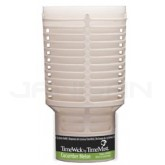 TimeMist TimeWick Oil-Based 60-Day Refill Cartridge - 1 case of 6 cartridges - Cucumber Melon