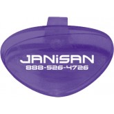 Janisan Toilet Bowl Clip-On - 1 box of 12 clips - Lavender