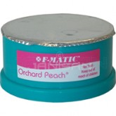 F-Matic High Performance Gel Odor Neutralizer Cartridges - 1 case of 10 refills -  Orchard Peach Fragrance