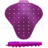 Ekcos Innovations EkcoScreen Anti-Splashback Urinal Screen - Mixed Berry Fragrance - 1 case of 12 urinal screens - Purple in Color