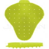 Ekcos Innovations EkcoScreen Anti-Splashback Urinal Screen - No Fragrance - 1 case of 12 urinal screens - Yellow in Color