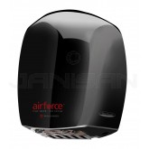 World Dryer Airforce Hand Dryer with Black Aluminum Cover