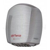 World Dryer Airforce Hand Dryer with Brushed Stainless Steel Cover