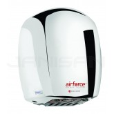 World Dryer Airforce Hand Dryer with Polished Aluminum Cover