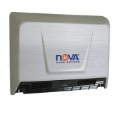 World Dryer Nova 2 Surface Mounted Hand Dryer - Brushed Stainless Steel