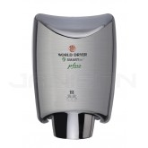 World Dryer Smartdri Plus Automatic Surface Mounted Hand Dryer - Brushed Chrome