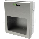 Palmer Fixture EcoStorm Recessed High Speed Automatic Hand Dryer - Brushed Stainless Steel