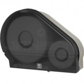 "Palmer Fixture RD0024-01F 9"" Jumbo Tissue Dispenser with 2 1/4"" Stub & 3 3/8"" Adaptors - Dark Translucent in Color"
