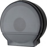 "Palmer Fixture RD0026-02 9"" Jumbo Tissue Dispenser with 3 3/8"" Core Only - Black Translucent in Color"