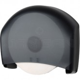 "Palmer Fixture RD0330-02 13"" Jumbo Tissue Dispenser with 3 3/8"" Core Only - Black Translucent in Color"