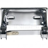 Palmer Fixture RD0381-12 Standard One Roll Metal Tissue Dispenser - Bright Chrome in Color