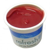 Fresh Products Refresh Gel Air Freshener - Vanilla Fragrance - 1 case of 12 cups