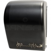 Palmer Fixture TD0201-02 Hands-Free Auto-Cut Roll Towel Dispenser - Black Translucent in Color