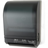 "Palmer Fixture TD0207-01 Mechanical Auto-Cut Roll Towel Dispenser - 1 1/2"" Core - Dark Translucent in Color"