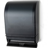 Palmer Fixture TD0215-01 Auto-Transfer Push Bar Roll Towel Dispenser - Dark Translucent in Color