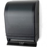 Palmer Fixture TD0215-02 Auto-Transfer Push Bar Roll Towel Dispenser - Black Translucent in Color