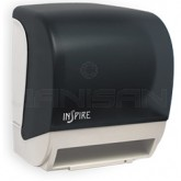 Palmer Fixture TD0235-01 INSPIRE Electronic Hands Free Roll Towel Dispenser - Dark Translucent in Color