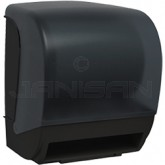 Palmer Fixture TD0235-02 INSPIRE Electronic Hands Free Roll Towel Dispenser - Black Translucent in Color