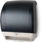 Palmer Fixture TD0245-01P Electra Touchless Roll Towel Dispenser with Options - Dark Translucent in Color