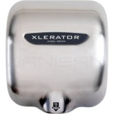 Excel Dryer Xlerator Hand Dryer with Brushed Stainless Steel Cover